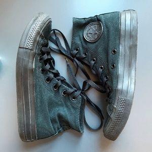 Converse Black Monochrome All Star High Top Shoes